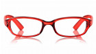Red Rectangle Rimmed Eyeglasses from Titan-0