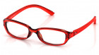 Red Rectangle Rimmed Eyeglasses from Titan-1