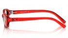 Red Rectangle Rimmed Eyeglasses from Titan-2