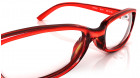 Red Rectangle Rimmed Eyeglasses from Titan-3