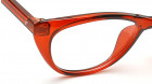 Red CatEye Rimmed Eyeglasses from Titan-4