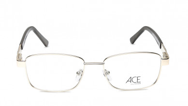 Brown Rectangle Rimmed Eyeglasses from Titan