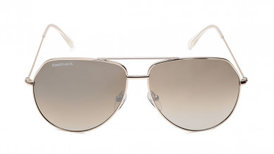Grey Rectangle Fastrack Men Sunglasses