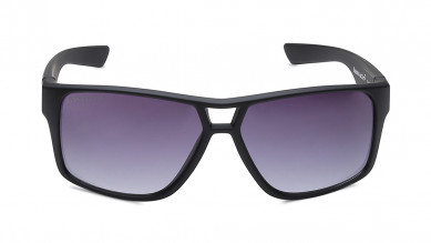 Black Round Fastrack Women Sunglasses