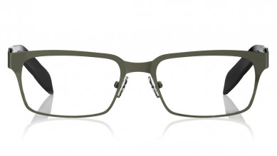 Black Oval Rimmed Eyeglasses from Titan