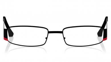 Red Oval Rimmed Eyeglasses from Titan