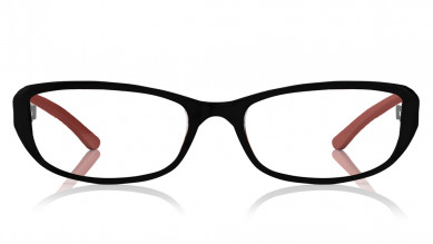 Brown Oval Rimmed Eyeglasses from Titan