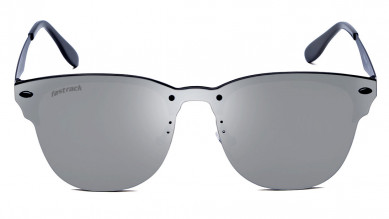 blue Wraparound Fastrack Men Sunglasses