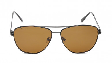 Grey Navigator Fastrack Men Sunglasses
